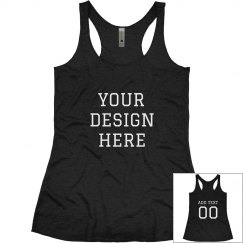 Custom Sports Mom Fashion Tank