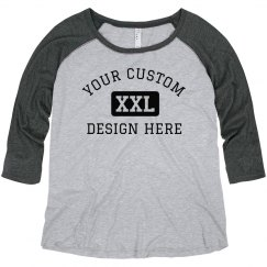 Custom Plush Size Sports Text