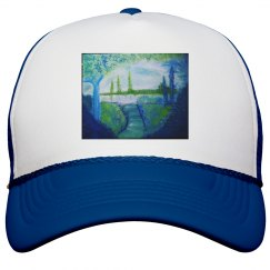 Bob Ross Inspired-Jazzy Art Hat