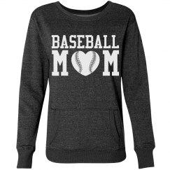 A Warm and Glittery Baseball Mom