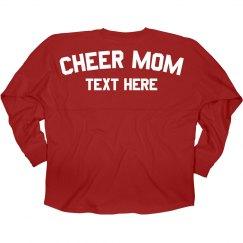 Custom Cheer Mom Game Day Jersey