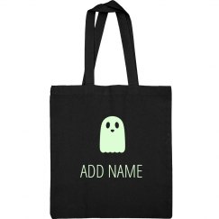 Custom Name Glow Ghost Bag