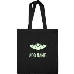 Custom Glow In Dark Cute Bat