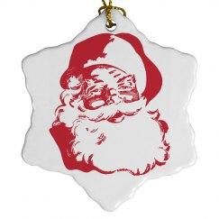 Vintage Santa on the Tree