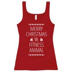 Christmas Filthy Animal Workout