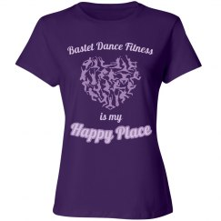 Bastet Dance Fitness Is My Happy Place - Relaxed Fit T