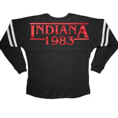 Metallic Red Indiana 1983
