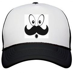 Cute Mustache fun Cap