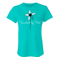 Touched by Teal Crew Neck