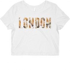 London Floral Text