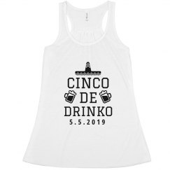 Trendy Cinco De Drinko Design