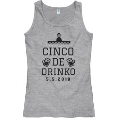 Cinco De Mayo Celebration Tank