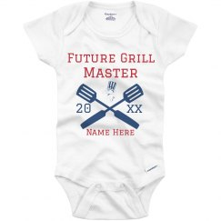 Future Grill Master Custom Name