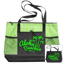 Aloha Beaches Neon Green