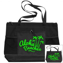 Aloha Beaches Neon Green