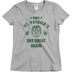 Make St. Pat's Great Irish Trump