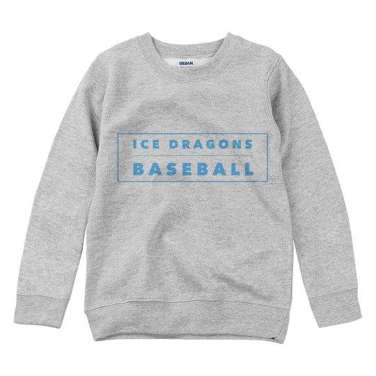#25 Youth Sweatshirt--Gildan Brand