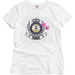 5 year shirt