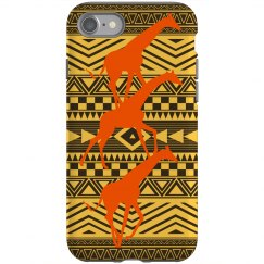 African Giraffe Motif