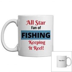Fan of fishing