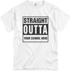 Custom Straight Outta School