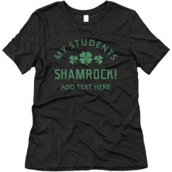 Funny Custom Teacher St. Patrick's
