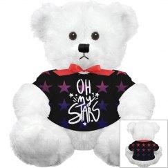 Custom Oh My Stars Bear