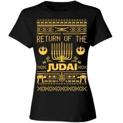 Funny Hanukkah Jedi Tee