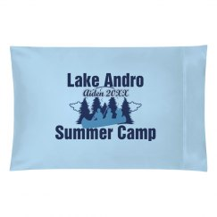 Summer Camp Pillowcase