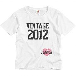 Vintage 2012 Distressed
