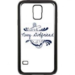 Navy Girlfriend Galaxy S 5 Case