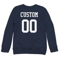 Custom Player Name Football Kid