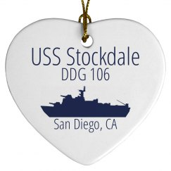 Stockdale Heart Ornament