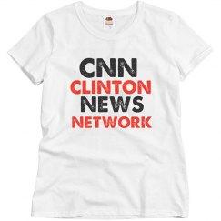 CNN Clinton News Network Tshirts Sale