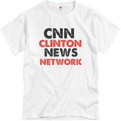 CNN Clinton News Network Mens Tshirt