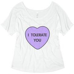 Valentine's Day I Tolerate You