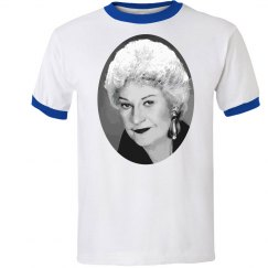 Bea Arthur Oval Photo Tee