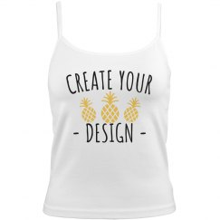 Create your Lingerie Lace Cami Crop