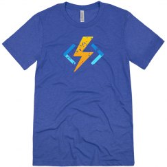 Azure Functions Tee Ice Blue Triblend