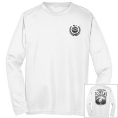 Custom Golf Team Club Logo Tees