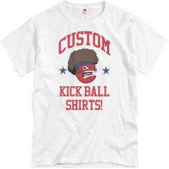 Custom Kickball Team Shirts