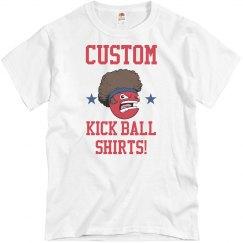 Custom Kickball Team Shirts