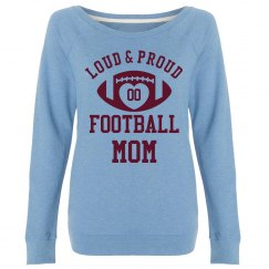 Custom Loud, Proud Football Mom