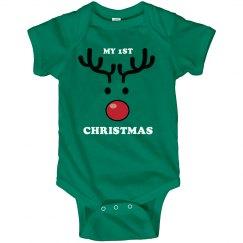 First Reindeer Christmas