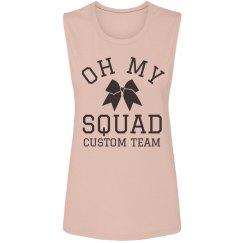 Oh My Squad Custom Cheer Tank