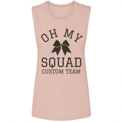 Oh My Squad Custom Cheer Tank