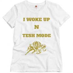 Tesh mode aries shirt gold