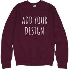 Personalized Sweatshirts No Minimum