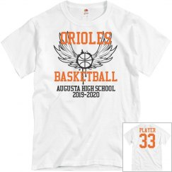 Oriole BB personalized