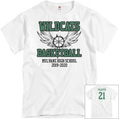 WILDCATS BB PERSONALIZED